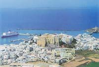 The town of Naxos (Chora)